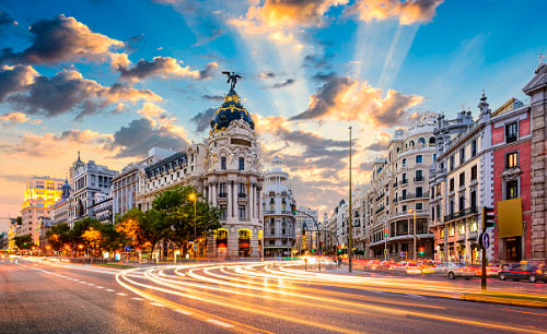 Travel to Madrid